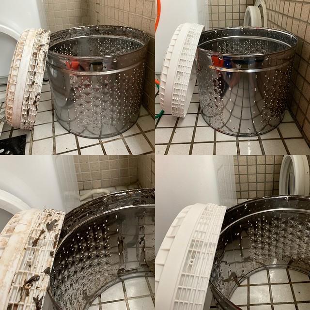 洗過的洗衣機桶身趴兔