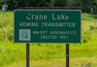 Crane Lake Homing Transmitter