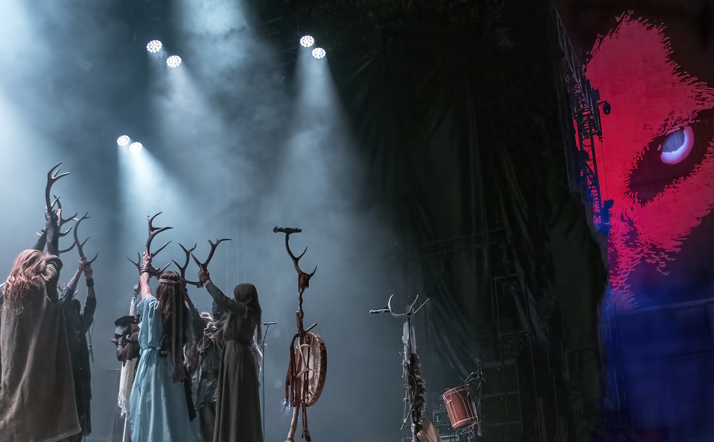 Heilung performs just after midnight on the summer solstice @ Copenhell