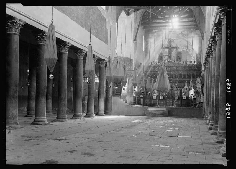 Bethlehem-church-of-nativity-interior-1934-39-mpc-22409v