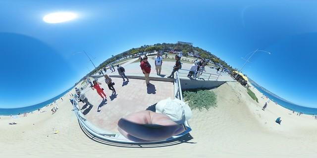 Chile - Valparaiso / Vina del Mare Beach 360°