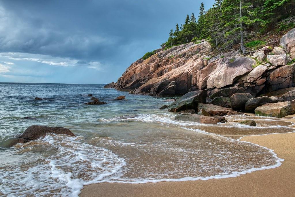 Acadia-Sandy Beach