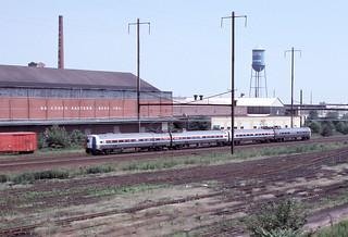 Amtrak Metroliner, North Philadelphia, PA