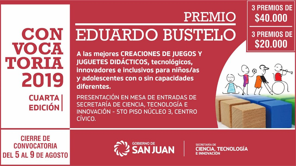 Premios Bustelo 2019 cambio de fechas