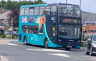 Arriva North East 7531 NK64 EES (22/06/2019)