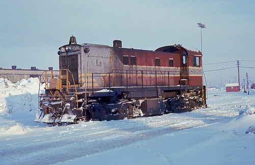 CPR Canadian Pacific RS-23 #8026 St Luc Yard 01-12-74