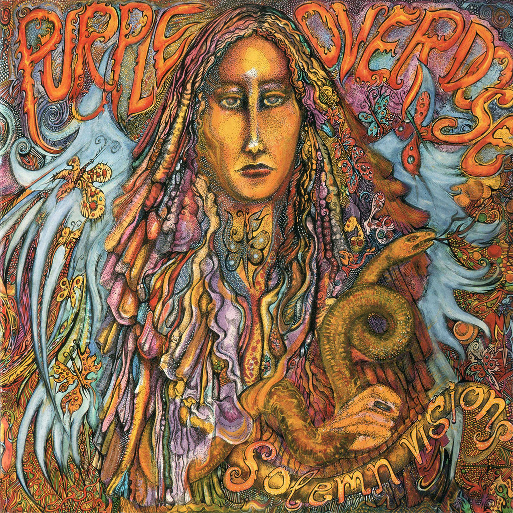 Purple Overdose - Solemn Visions