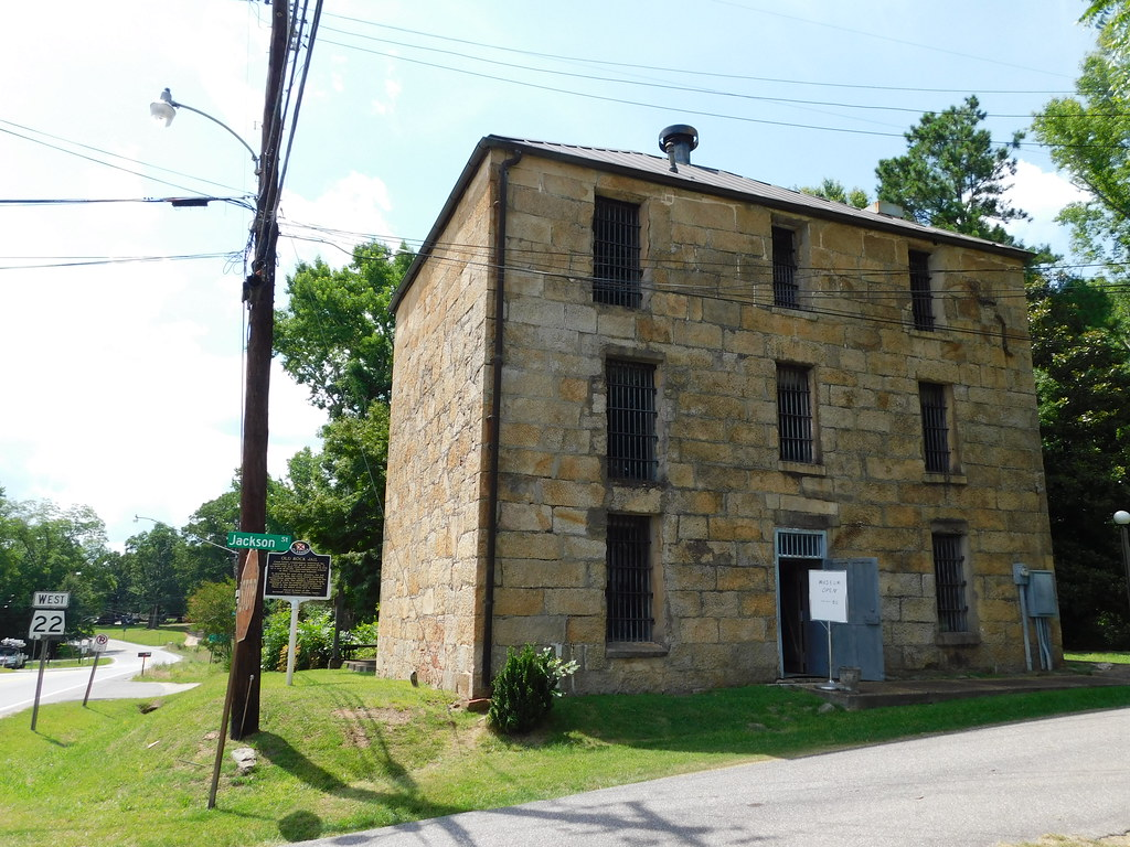Old) Coosa County Jail   Rockford, Alabama Constructed in 1