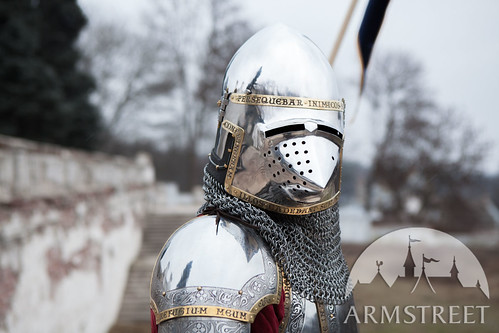 medieval-bascinet-helmet-hounskull-sca-bargrill-the-kings-guard-4 | by svpearson