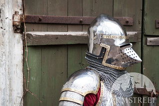 medieval-bascinet-helmet-hounskull-sca-bargrill-the-kings-guard-1 | by svpearson