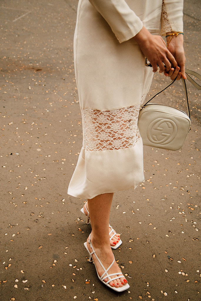 Finery London Ivory Beladonia Dress | London Fashion Blogger