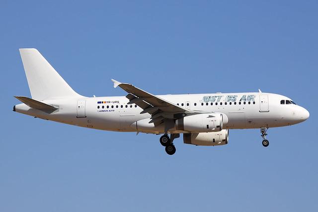 Just Us Air  Airbus A319-132 YR-URS