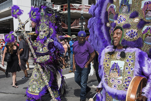 Fi-Ya-Ya at Dr. John's funeral second line on June 22, 2019. Photo by Ryan Hodgson-Rigsbee RHRphoto.com