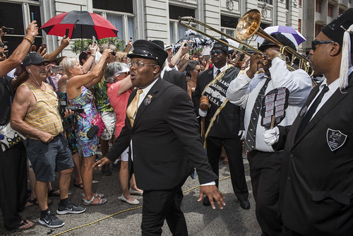 Dr. John's funeral second line on June 22, 2019. Photo by Ryan Hodgson-Rigsbee RHRphoto.com