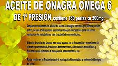 Aceite de Onagra Omega 6 de 1ª Presión 24