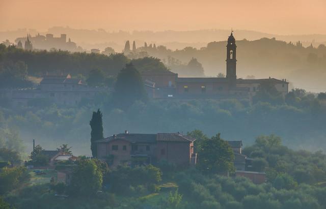 Siena sunrise