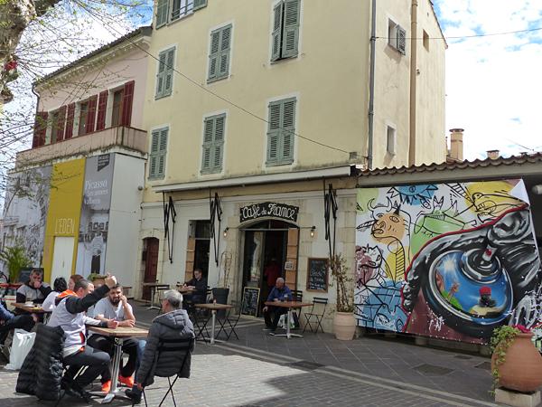 café de France à Vallauris