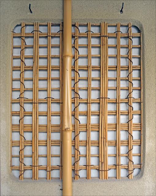 Fenêtre de la Maison de thé (Hôtel d'Eidelbach, musée Guimet / MNAAG, Paris)