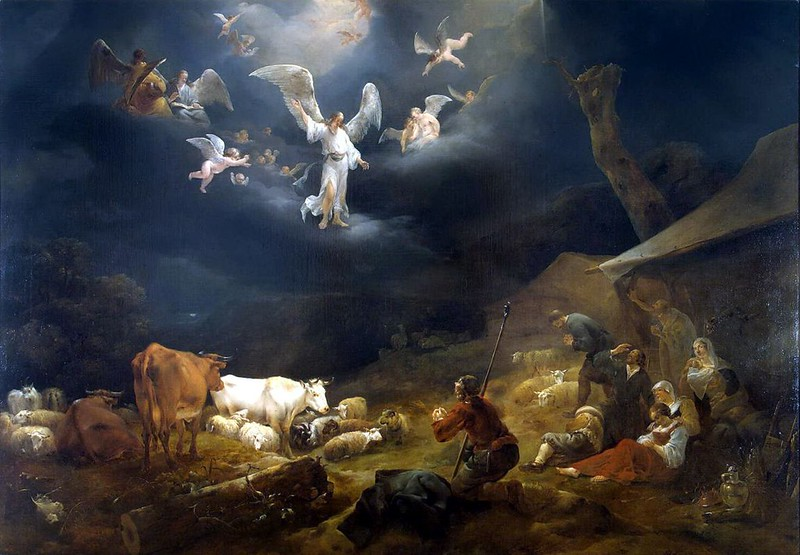 Nicolaes-Berchem-Annunciation-to-the-Shepherds-arr-1