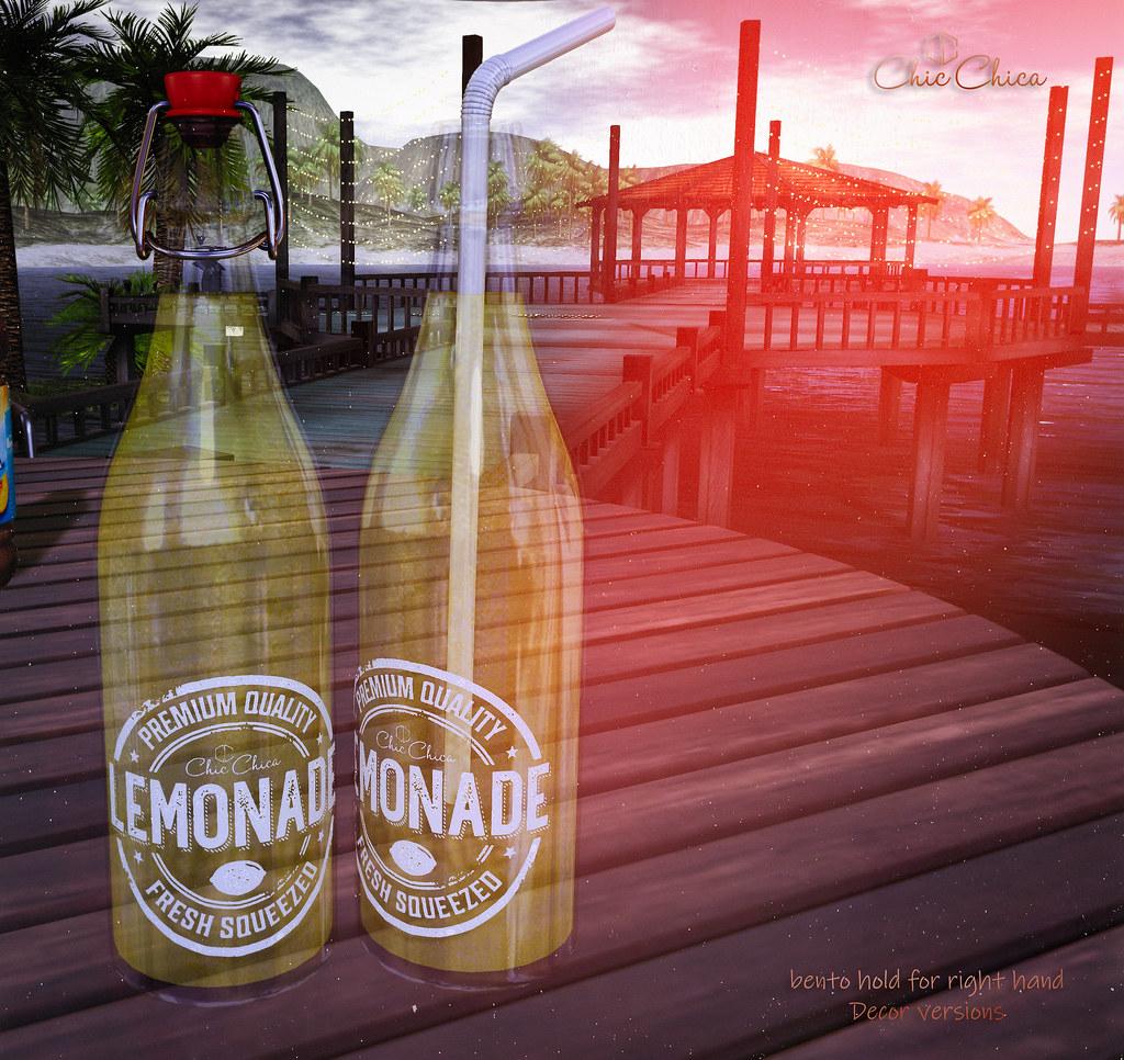 GIFT, Lemonade bottles by ChicChica