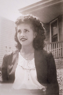 Clara at 18, the Bronx, 1947