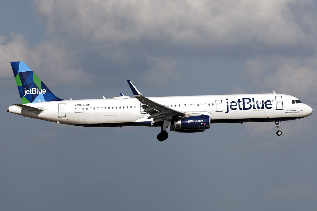N996JL - Airbus 321-231(SL) - jetBlue - KMCO - Jun 2019