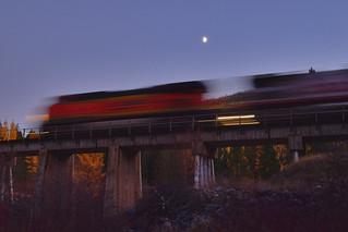 Moonlight at Tamarack