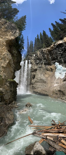 Bow river lower falls