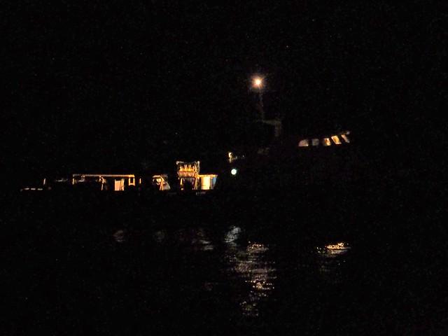 S5245978 SBAU Bacara Ritz Carlton Venoco service boat at night rotate22 shad100 exp78 clar20