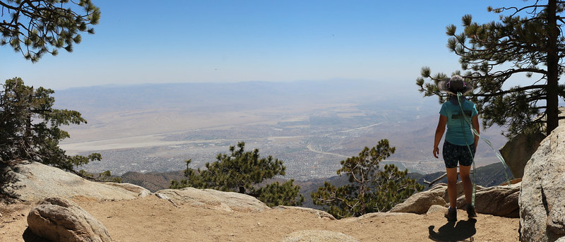 Looking east from Desert View in the Hidden Divide Natural Preserve