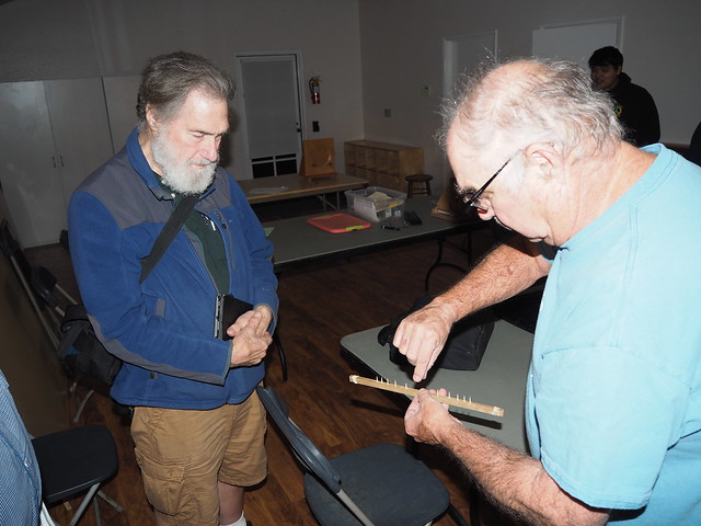 S5286276 SBAU telescope workshop TimC pinstick for knife edge mirror test calculations