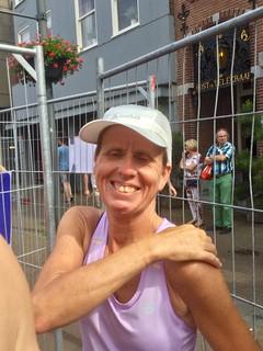 Petra Bruijs 10 km winnaar V45