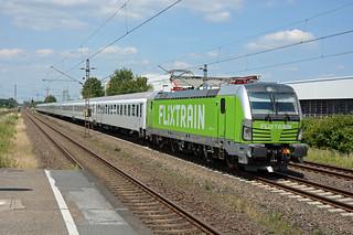 193990-9 D-Rpool + FLX 27802, Langenfeld (Rheinland) - Berghausen, 23 June 2019