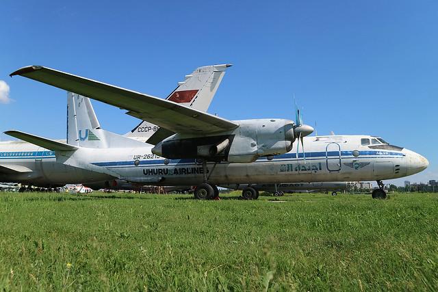 UR-26215 Former Uhuru Airlines Antonov An-26 at the State Aviation Museum of Ukraine Kiev on 26 May 2019