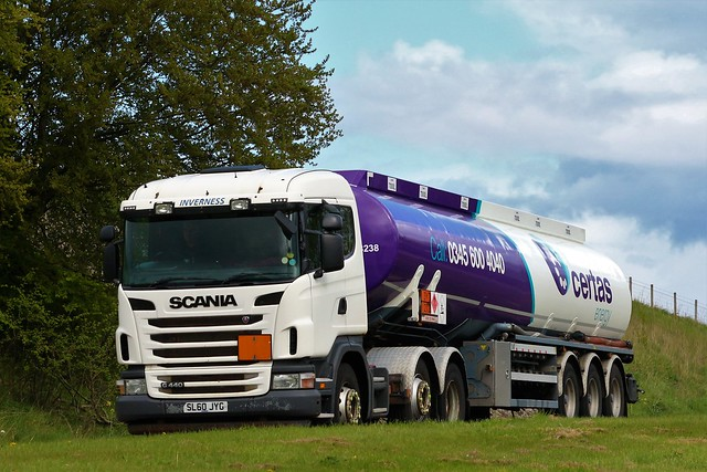 Certas Energy Scania G440 SL60JYG