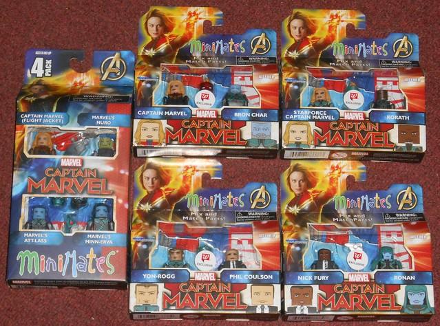 MiniMates - Captain Marvel