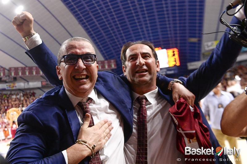 festeggiamenti: Walter De Raffaele e Federico Casarin