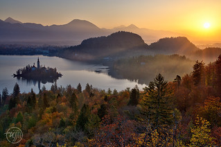 Bled, sunrise