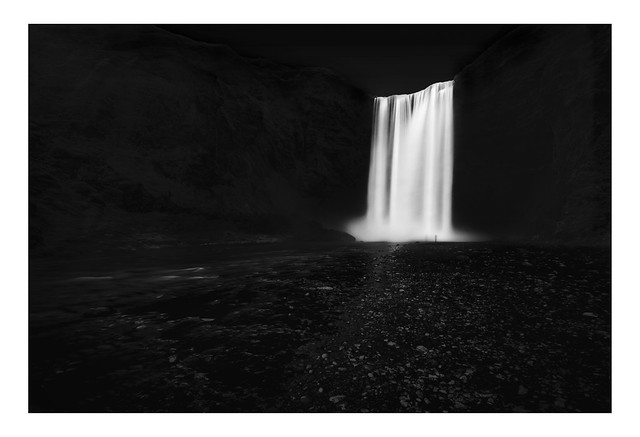 Skogafoss Waterfall Early Evening | Iceland