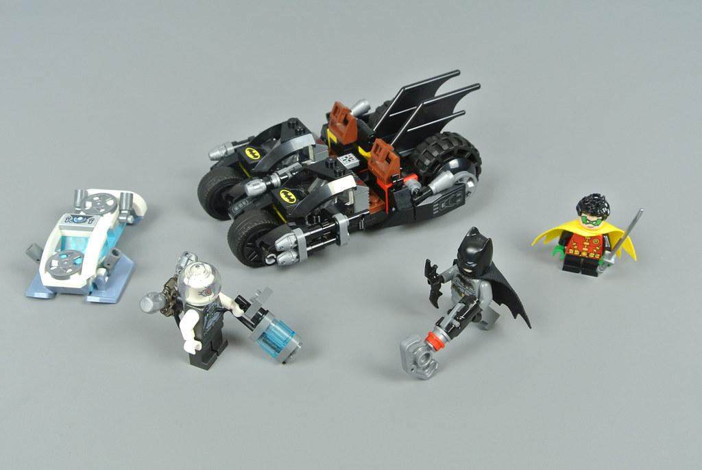 LEGO DC Comics Super Heroes 76118 Mr. Freeze Batcycle Battle review