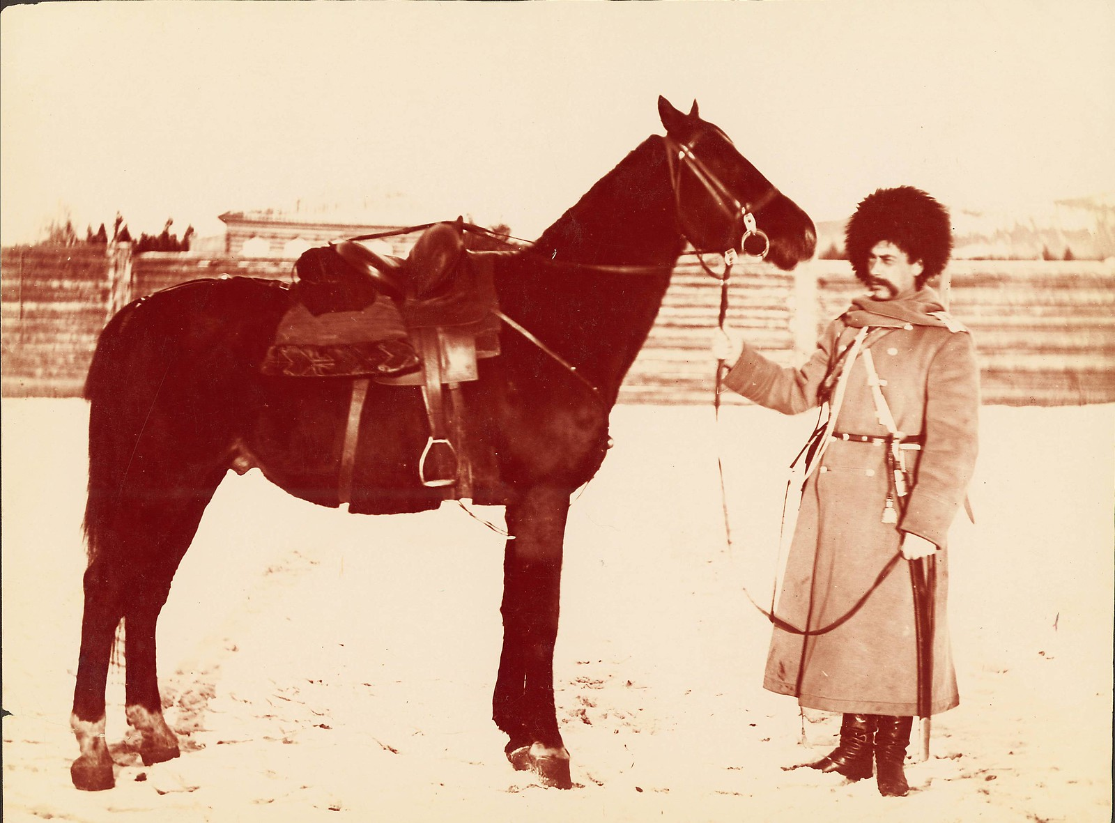 1895. Уильям Генри Джексон путешествует по Транссибу. Забайкальская область