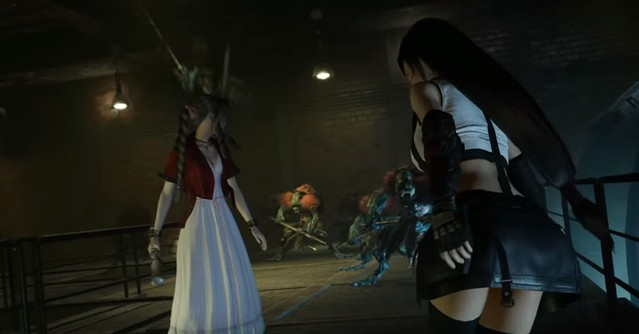 Final Fantasy VII Remake - Upskirt van Tifa