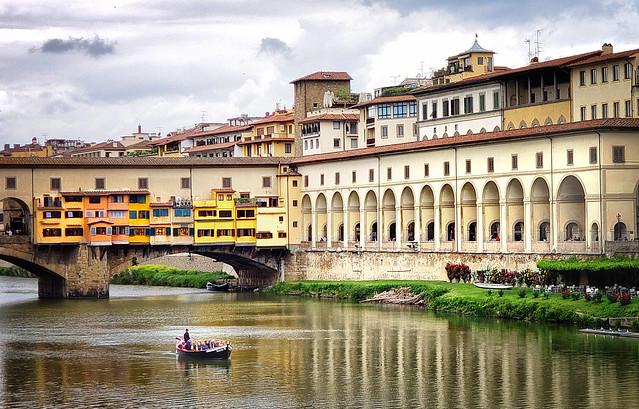 At Ponte Vecchio, Florence