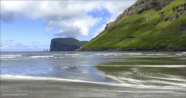 Tjørnuvík, Faroe Islands 22.06.2019