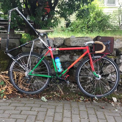 Bike frame transport