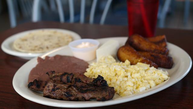 Desayuno from El Pollo Catracho Honduran Restaurant in Des Moines, Iowa
