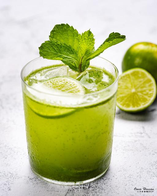 Lime Mint Juice 4