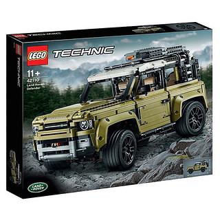 硬派越野魂再燃!! LEGO 42110 科技系列【Land Rover Defender】公開!!