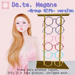 !cream spaghetti hair! Da.te. Megane -Group Gift- AD