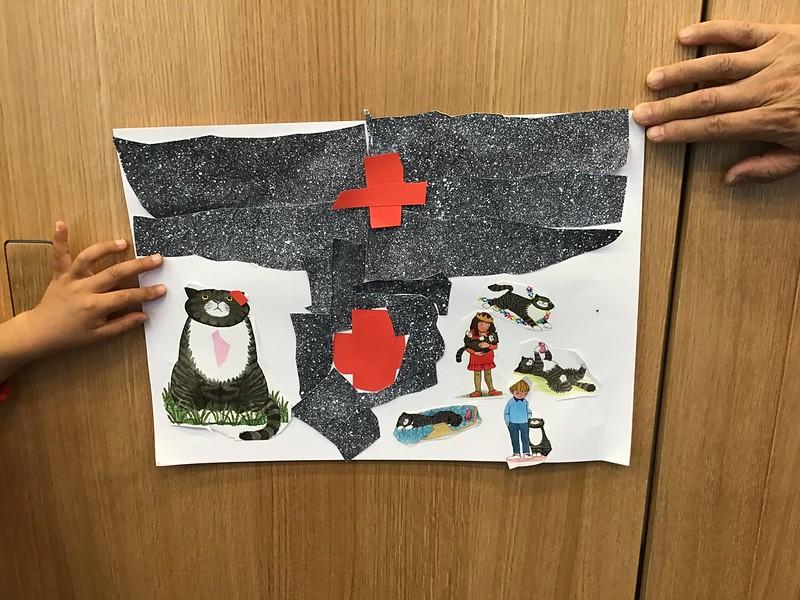 Matariki aspirational collage, Tūranga